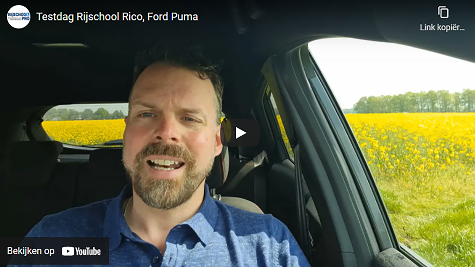 Ford Puma rijtest: Rijschool Rico